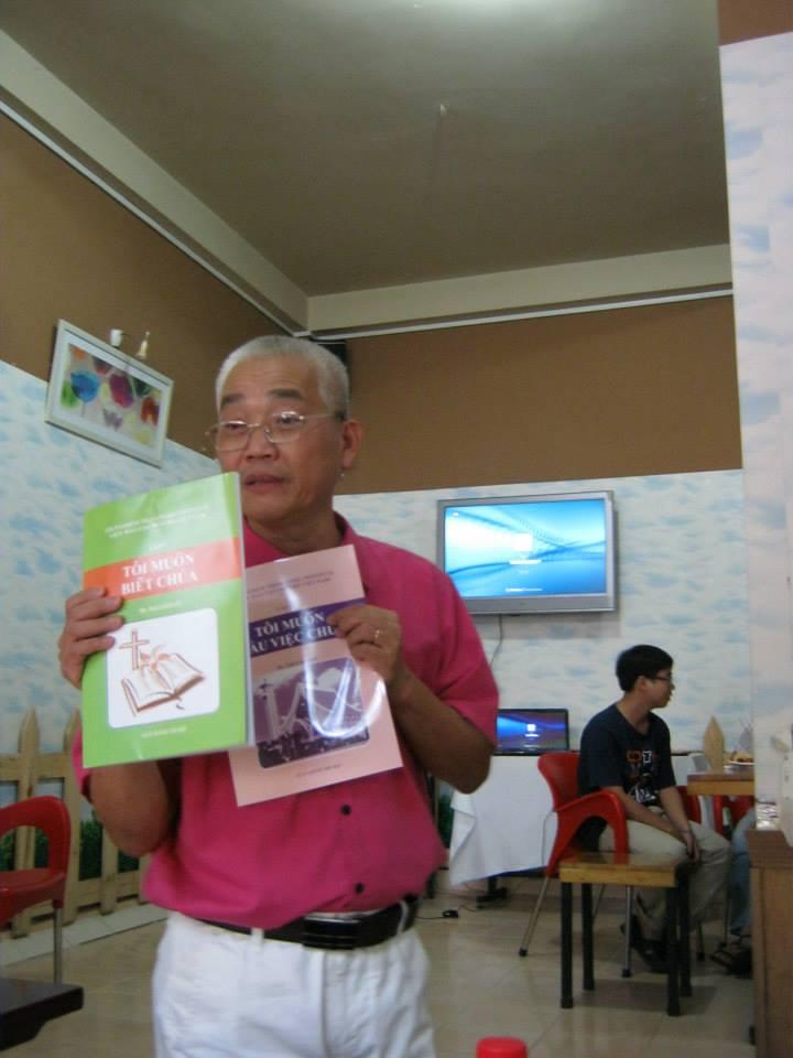 MS Kiến giới thiệu chương trình VMI tại Việt Nam
