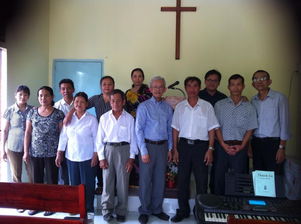 Các tín hữu tại Bình Thuận