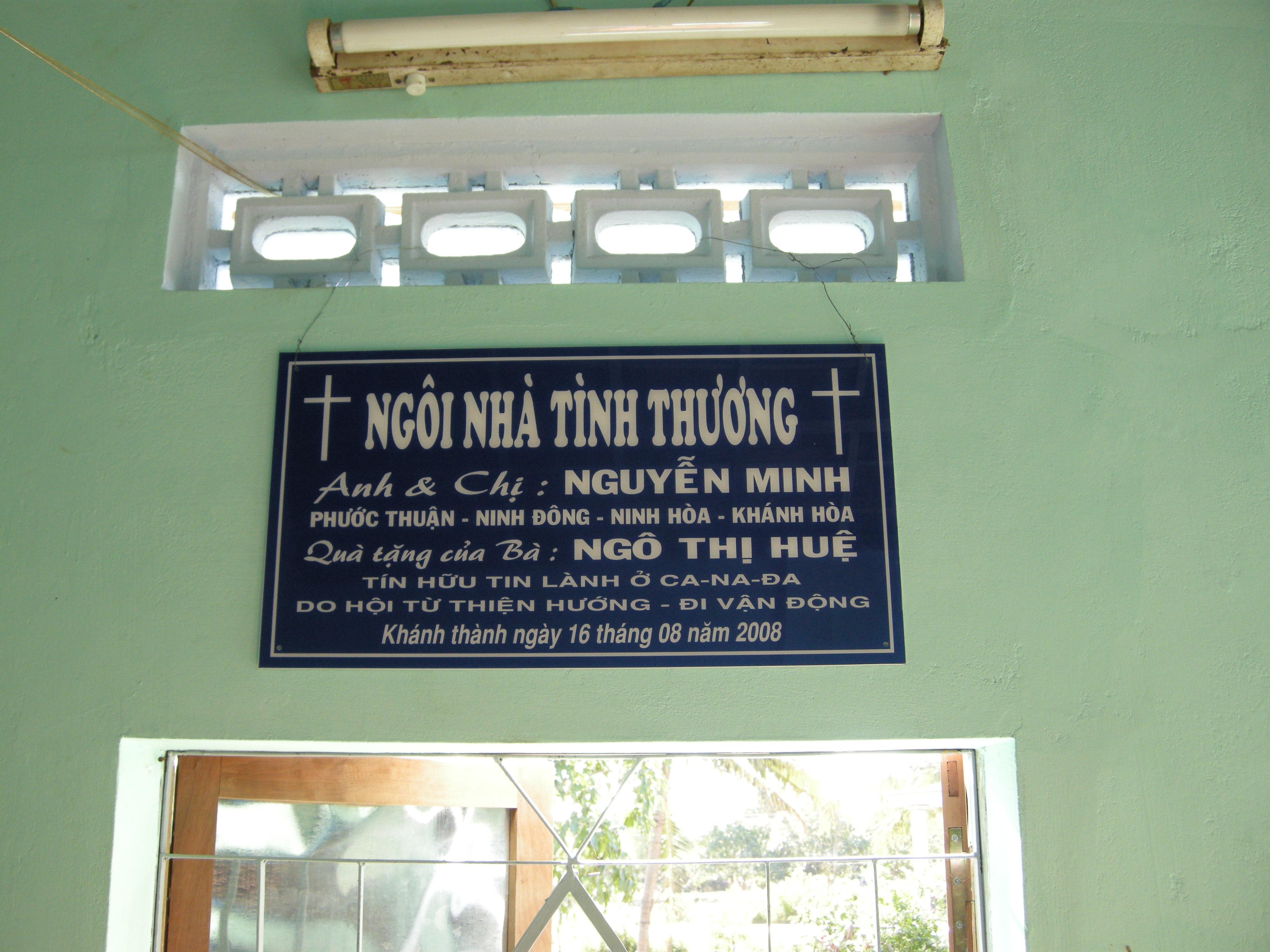 BANG NHA 3 MINH NINH HOA