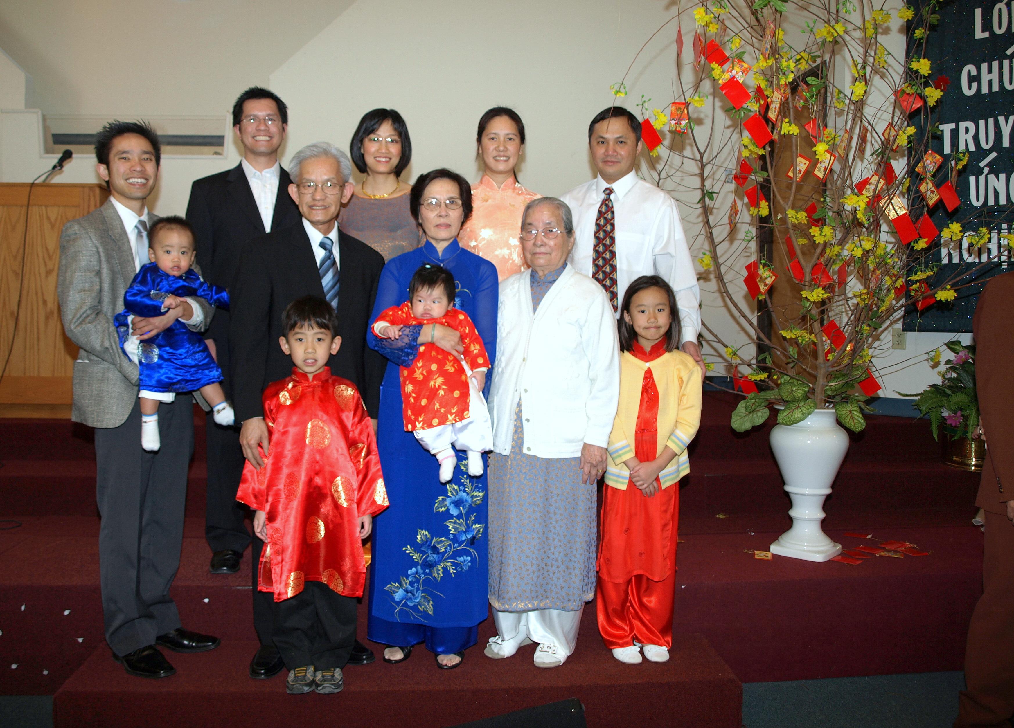 Gia đình mục sư Huệ