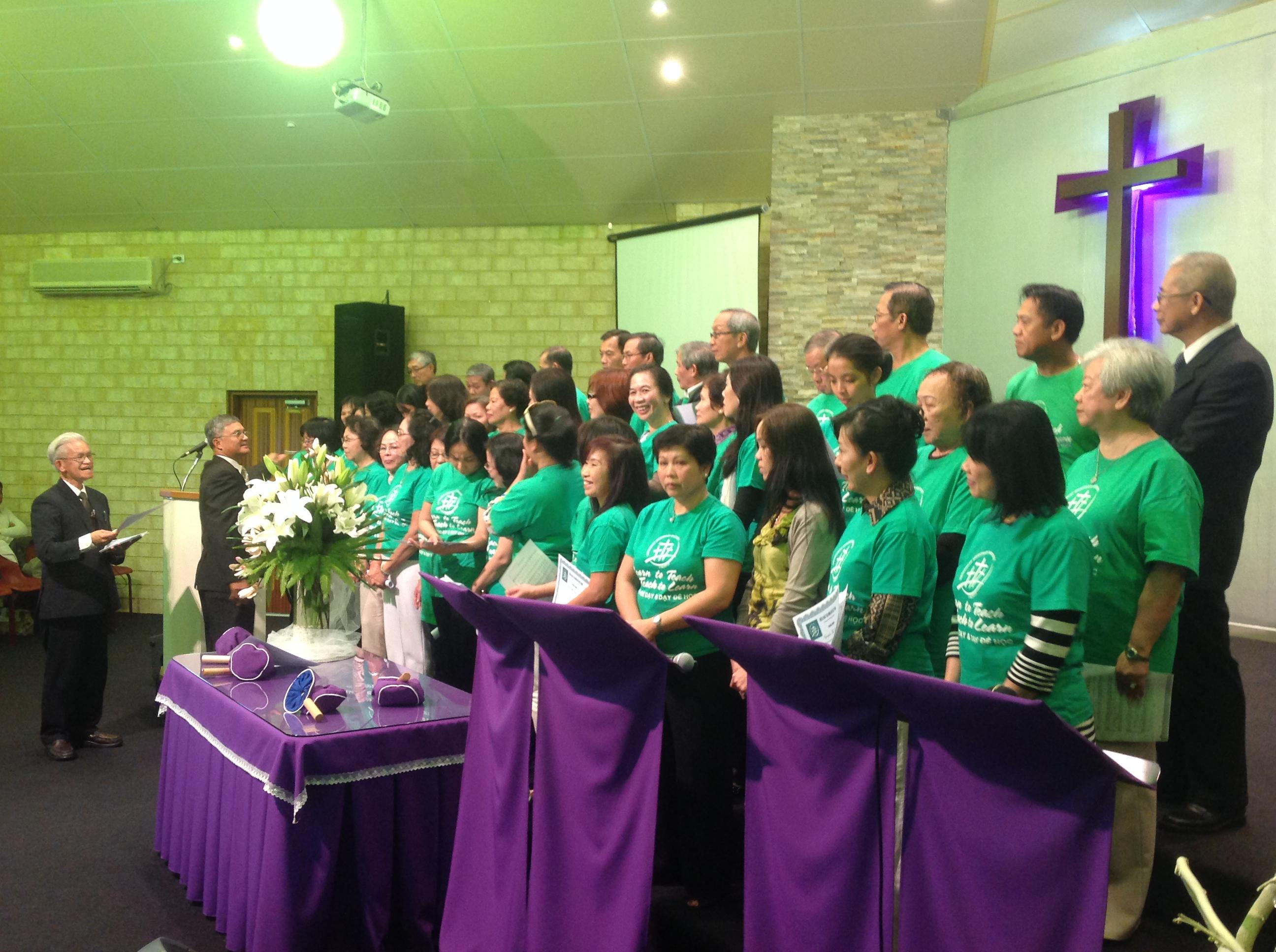 Hoạt động của VMI tại Úc