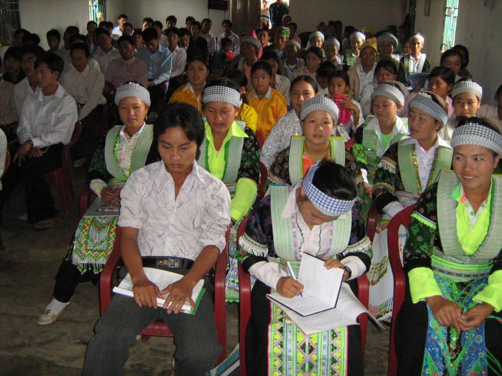 Hội thánh của người dân tộc thiểu số