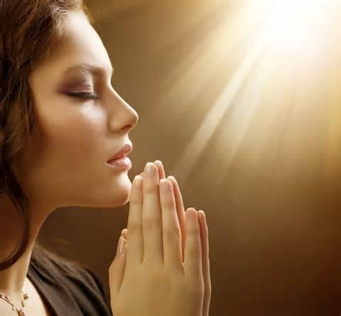 prayer girl