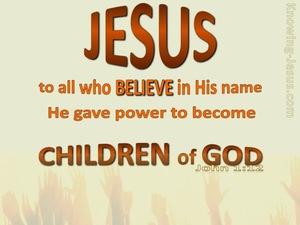 John 1-12 Children of God-brown