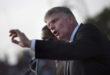 (RNS1-may20) Franklin Graham, son of evangelist Billy Graham, addresses the crowd at the Festival of Hope, an evangelistic rally held at the national stadium in Port-au-Prince, on January 9, 2011. Photo courtesy of REUTERS/Allison Shelley *Editors: This photo may only be used with RNS-FRANKLIN-GRAHAM, originally transmitted on May 20, 2015.